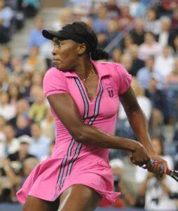 Vegan Pro-Athletes-Venus Williams