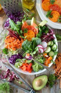 A Vegan-Diet on a Budget-Dinner-Salad